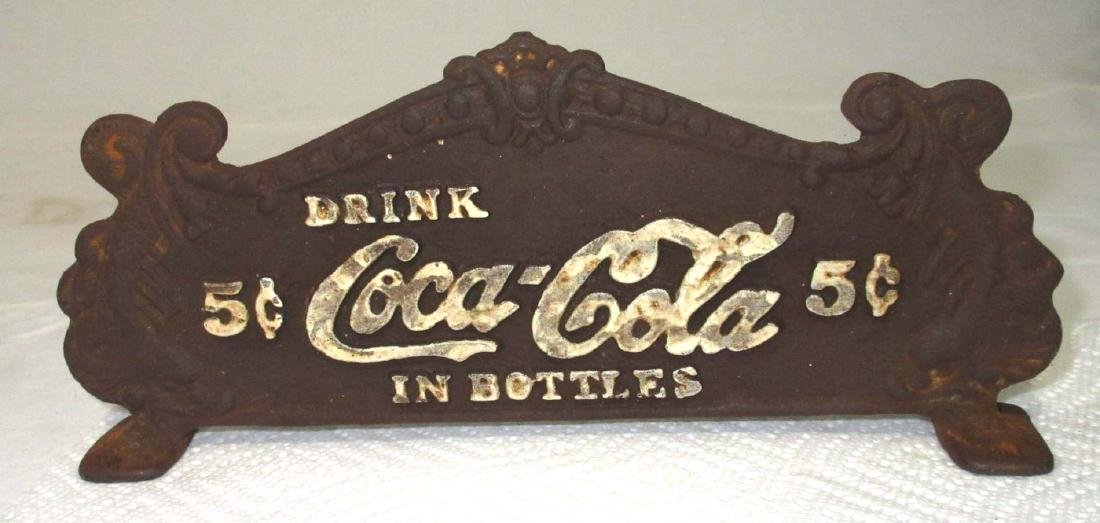 Modern Cast Iron Coca Cola Register Top