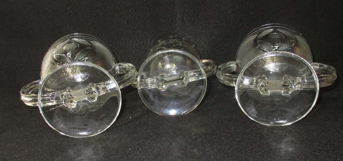 3pc EAPG Double Handle Spooners - 2