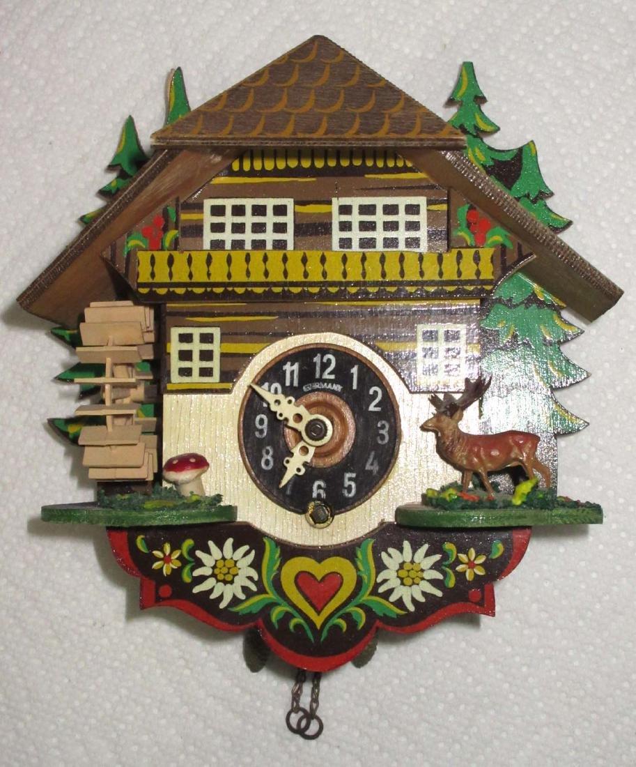 Handmade German Wood Clock