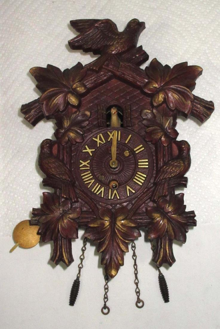 Lux Waterbury Coo coo Style Clock
