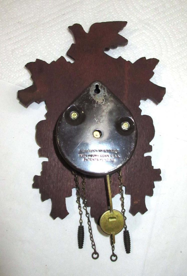 Lux Waterbury Coo coo Style Clock - 4