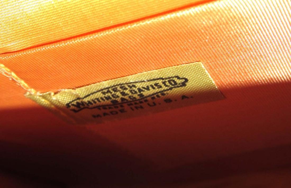 Whiting & Davis Gold Armor Mesh Envelope Clutch, Snap - 4