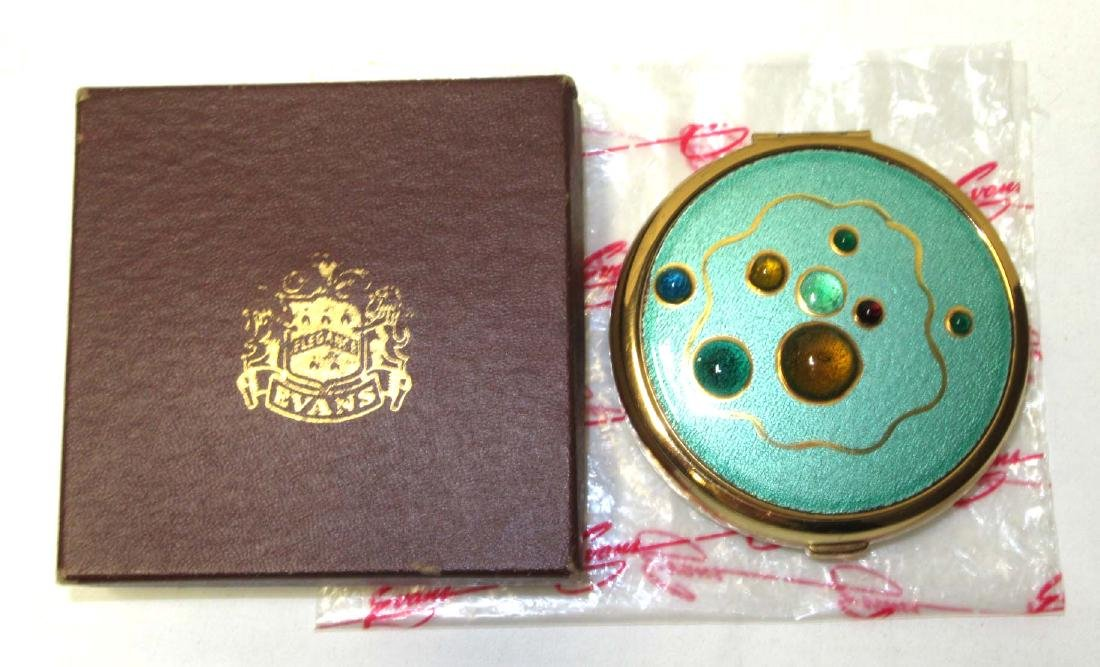 Evans Magnificent NOS Vintage Unused Compact in