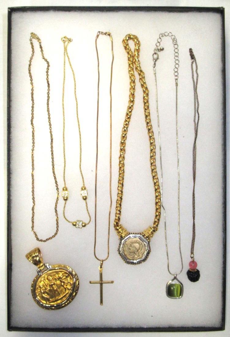 7 pc. Pendant Necklaces