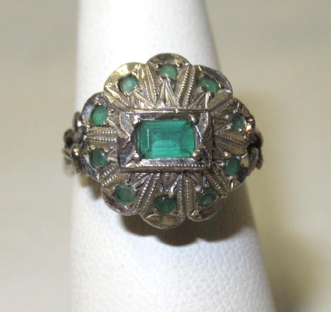 18kt Emerald Ring - 2