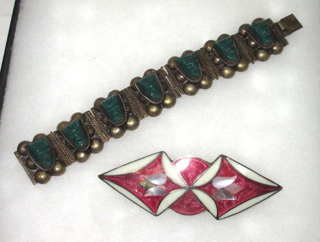 2pc Bracelet & Hair Clip