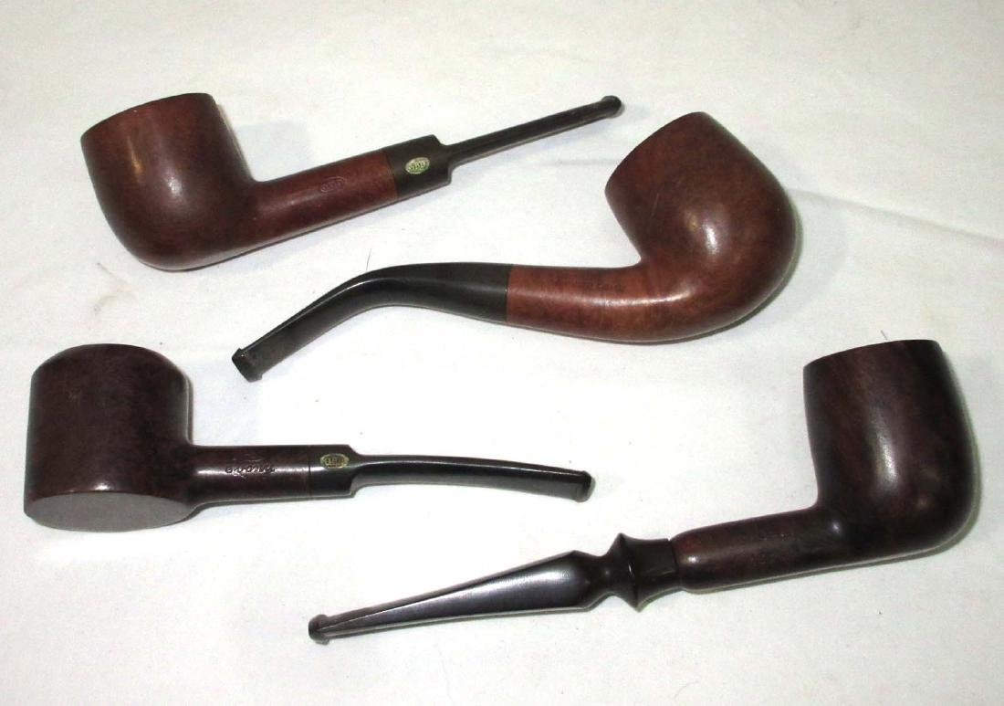 4 Tobacco Pipes