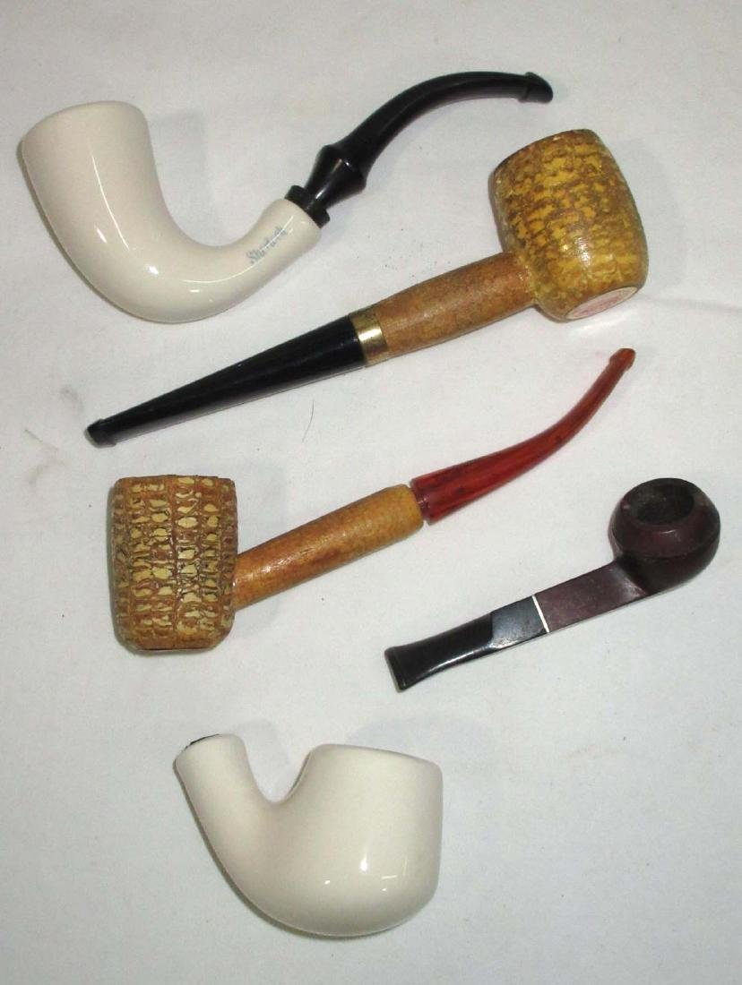 5 Tobacco Pipes - 2