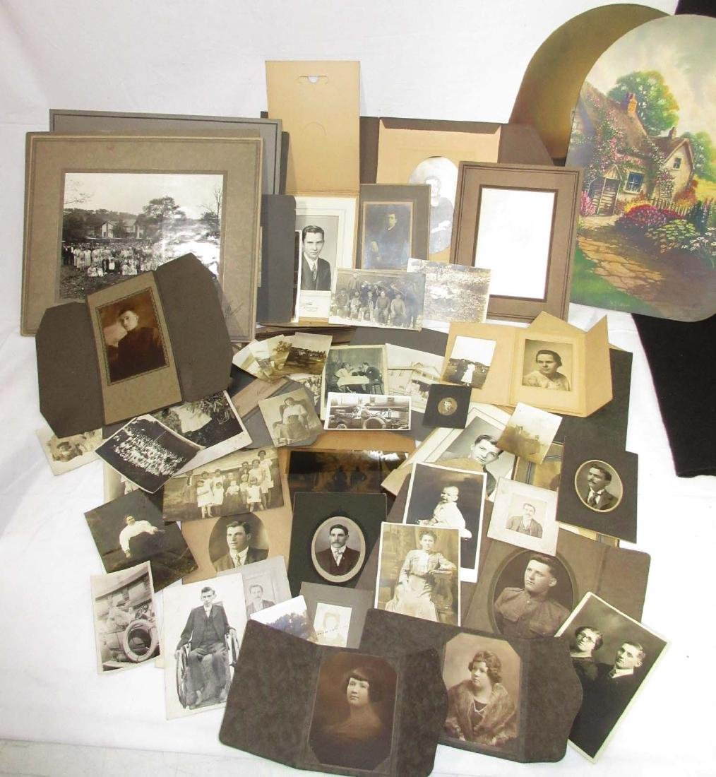 Large Lot of Early Photos
