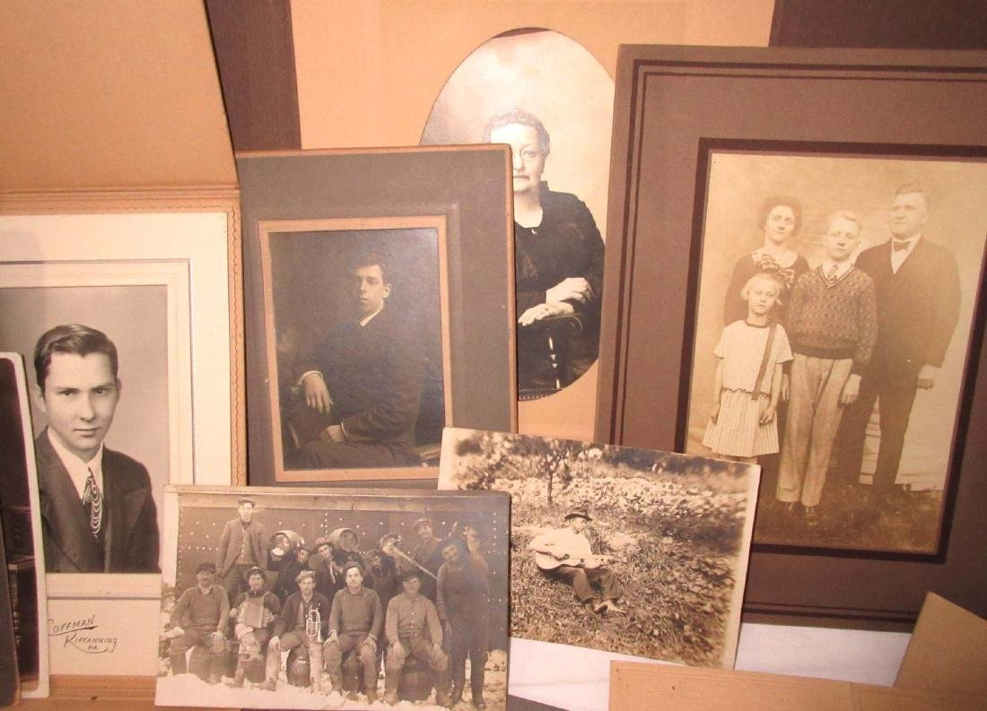 Large Lot of Early Photos - 3