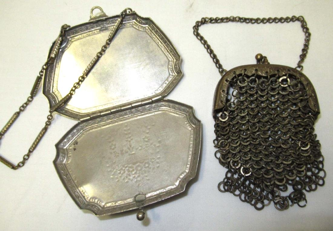 Late 1800's 3pc Victorian Coin Purses - 2