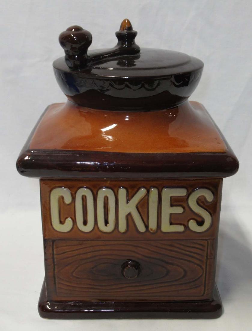 Coffee Grinder Cookie Jar