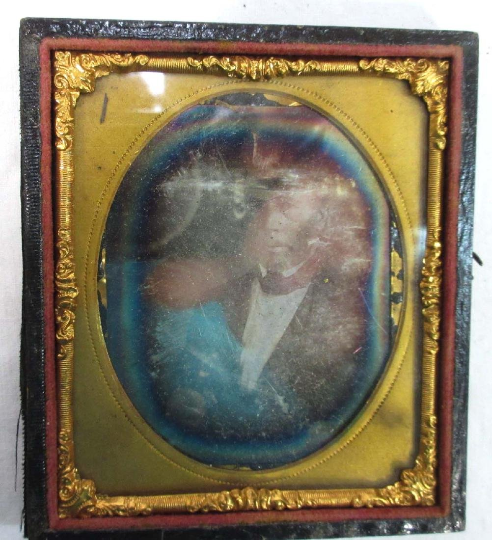 2pc Tin Types in Cases - 3