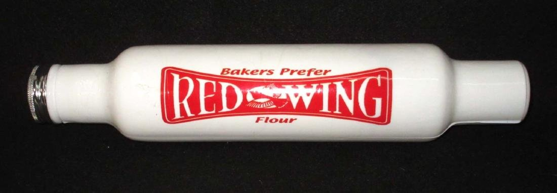 Red Wing Glass Rolling Pin