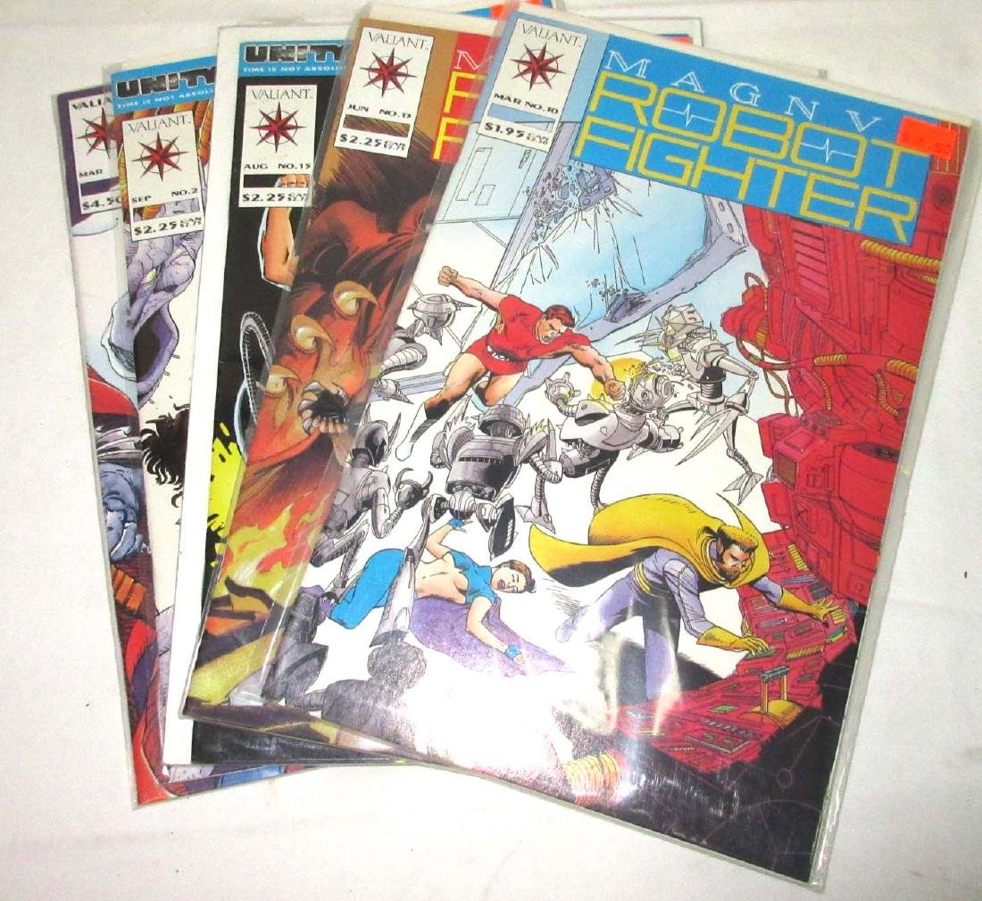 5 Mint Unread Comic Books