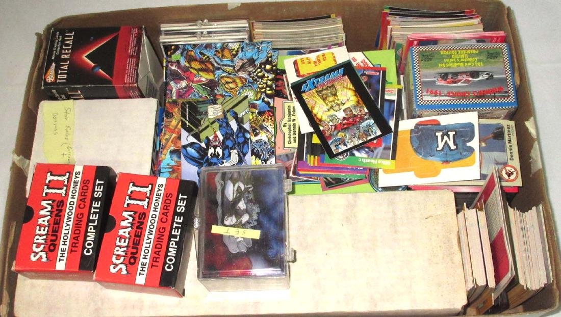 Large Lot Sport & Nonsport Trade Cards & Price Guides
