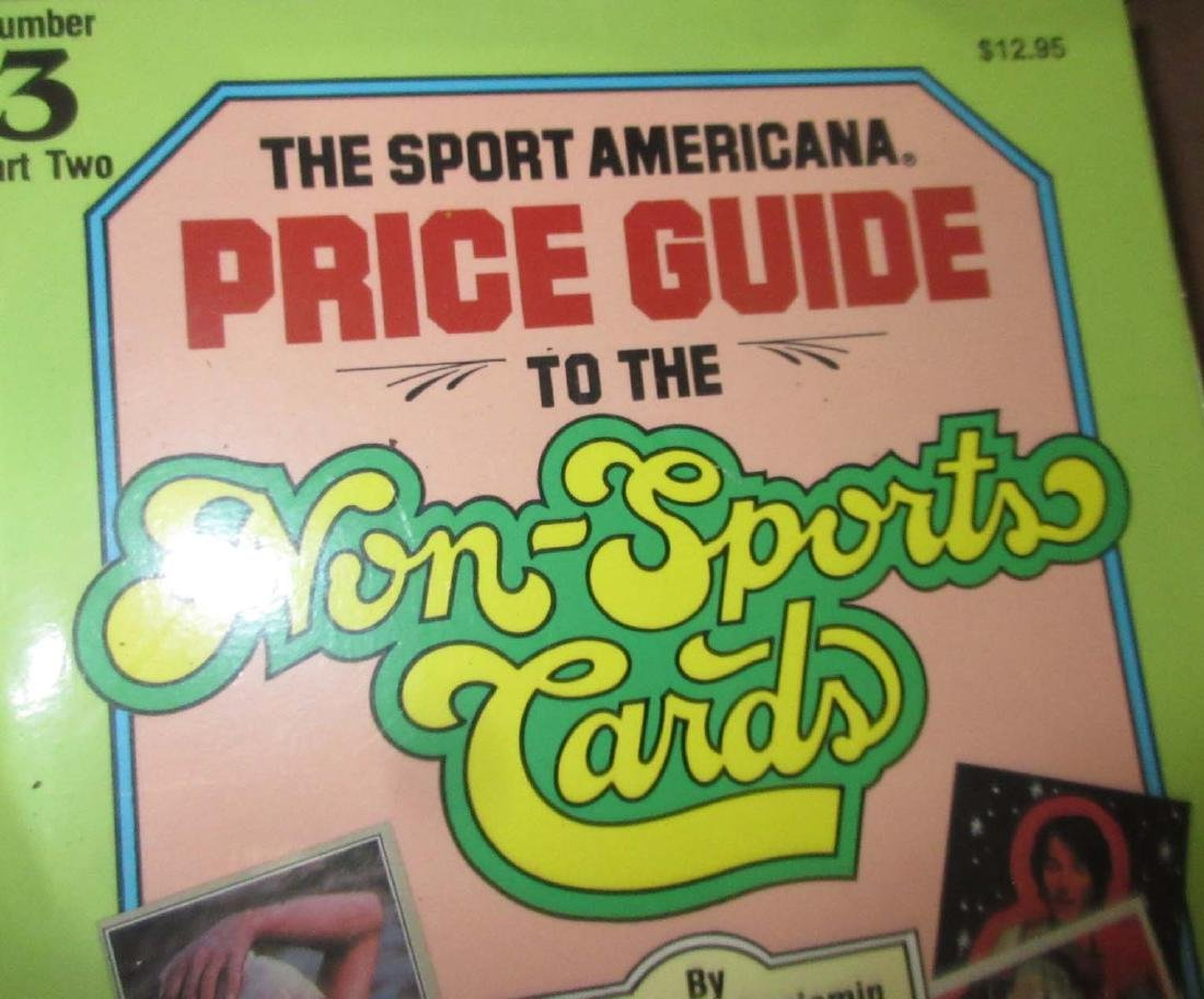 Large Lot Sport & Nonsport Trade Cards & Price Guides - 5