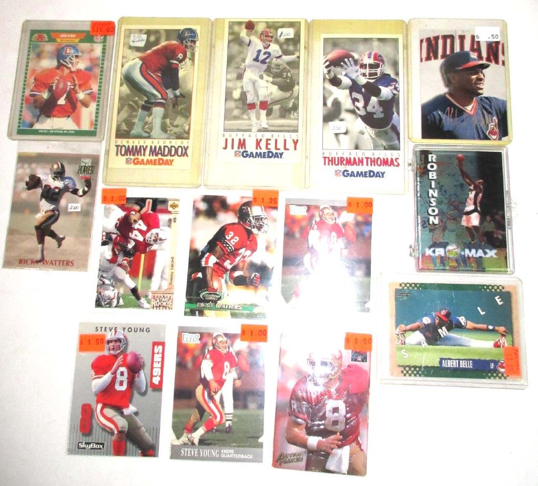 14pc Sport Cards - Rookies, Errors, Samples