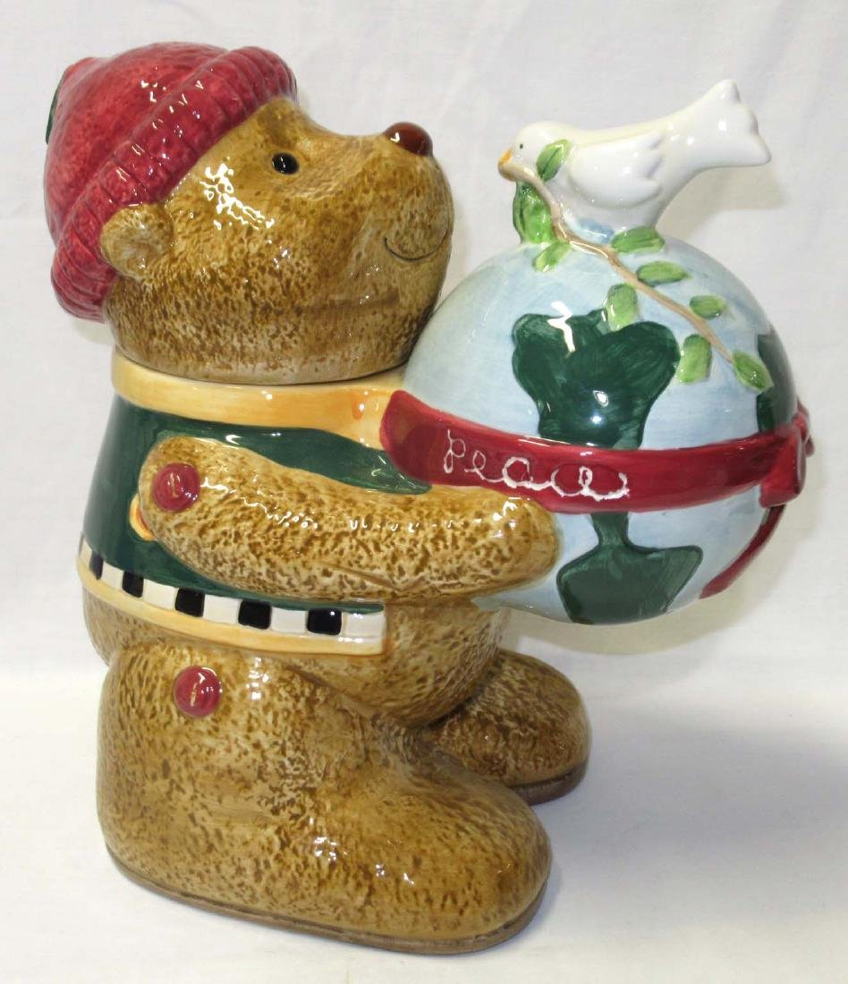 Debbie Mumm Bear Cookie Jar