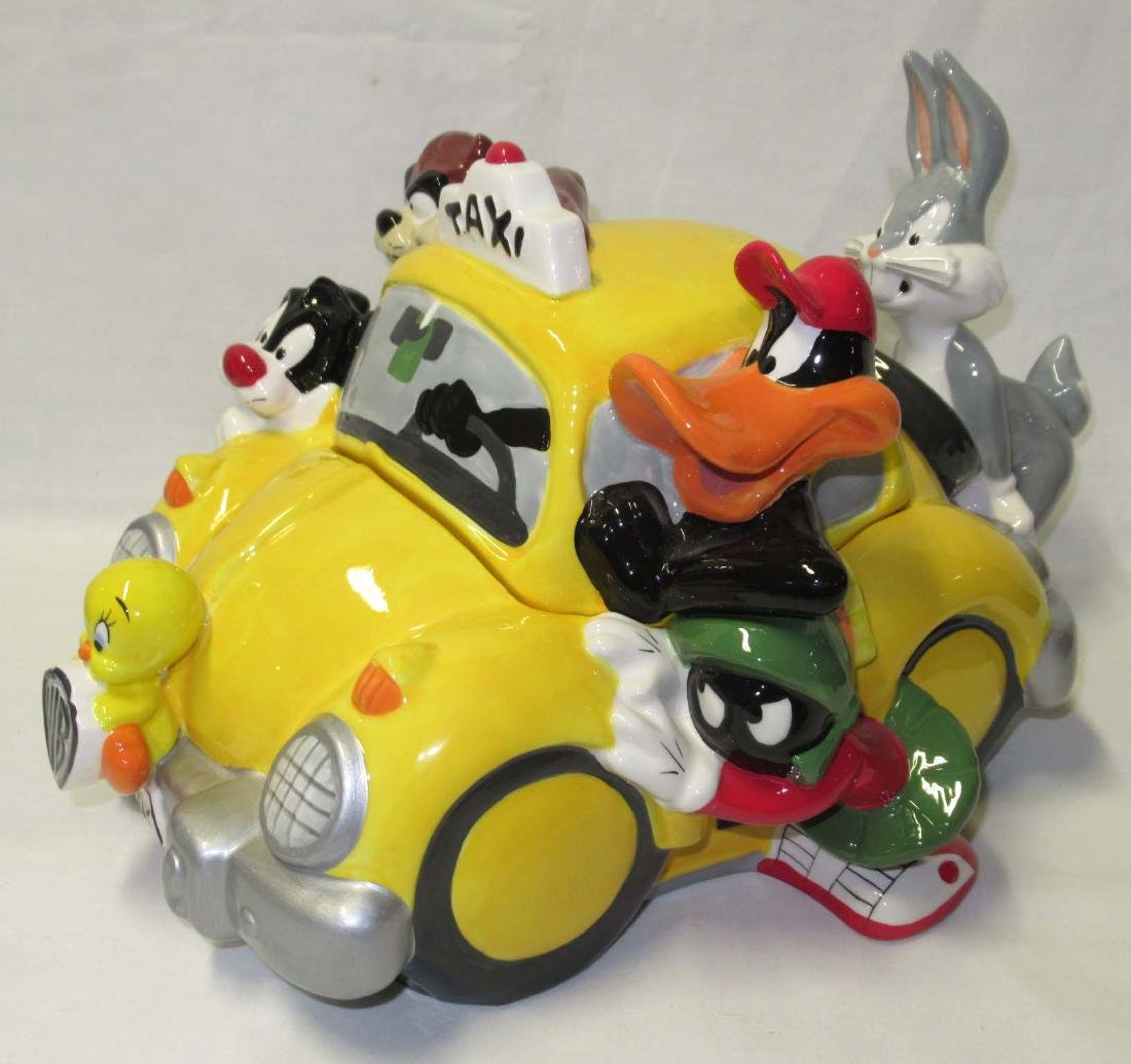 Looney Tunes Taxi Cookie Jar