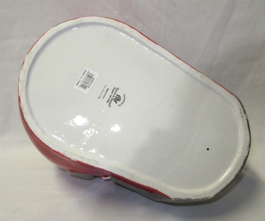 3pc Football Helmet Cookie Jar, S & P - 2
