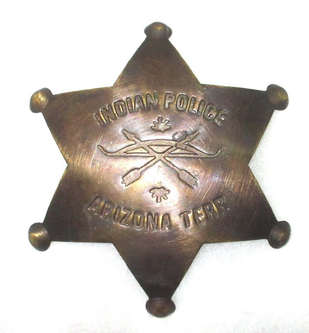 Modern Indian Police Badge