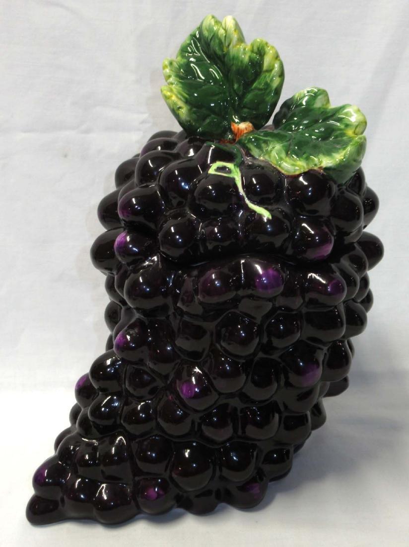 Grapes Cookie Jar