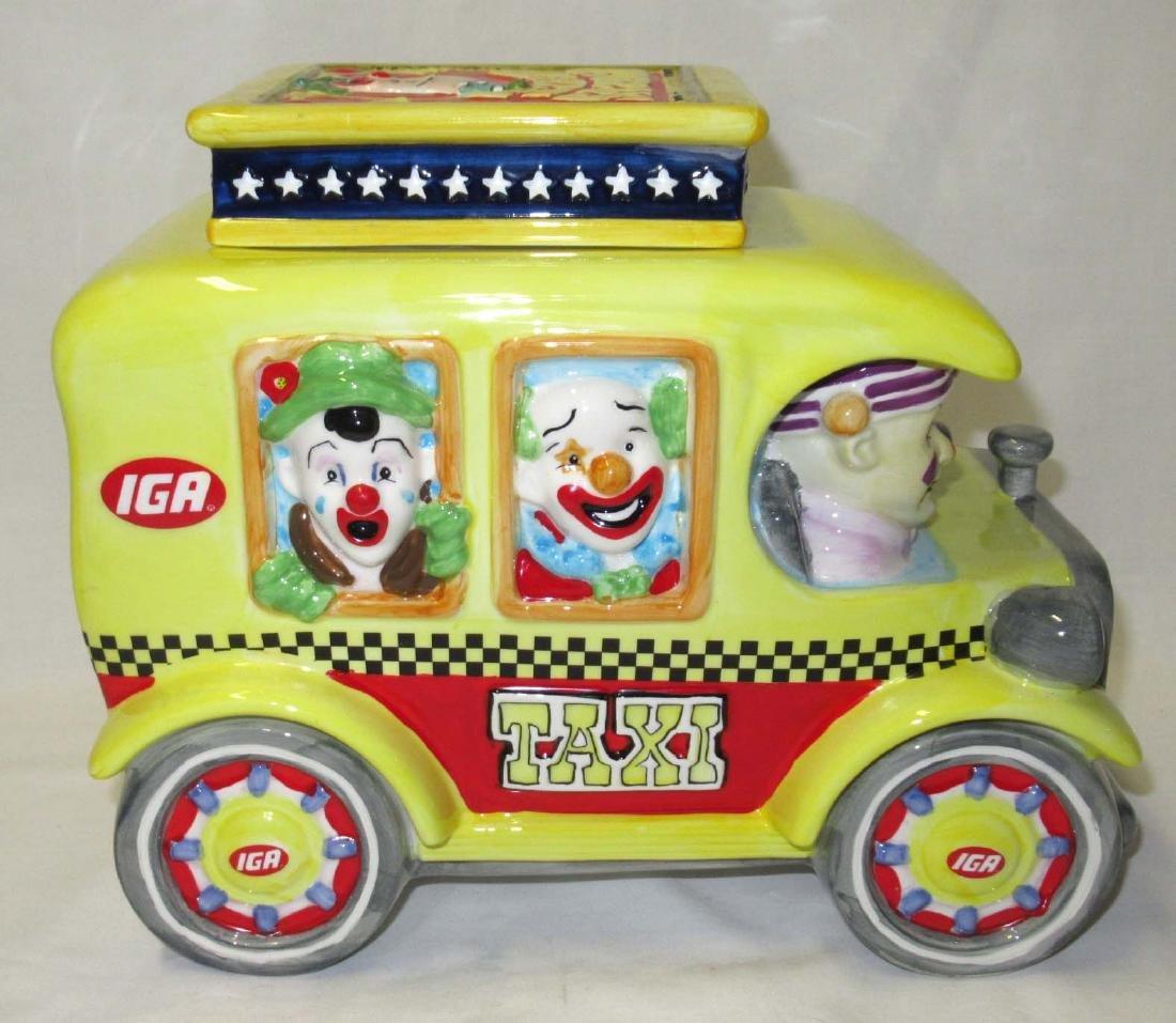 IGA Circus Daze Cookie Jar