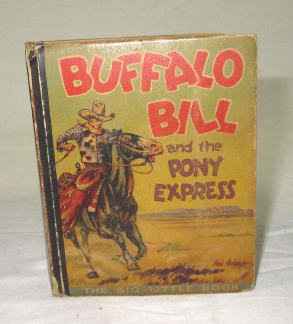 Big Little Book 1934 Buffalo Bill
