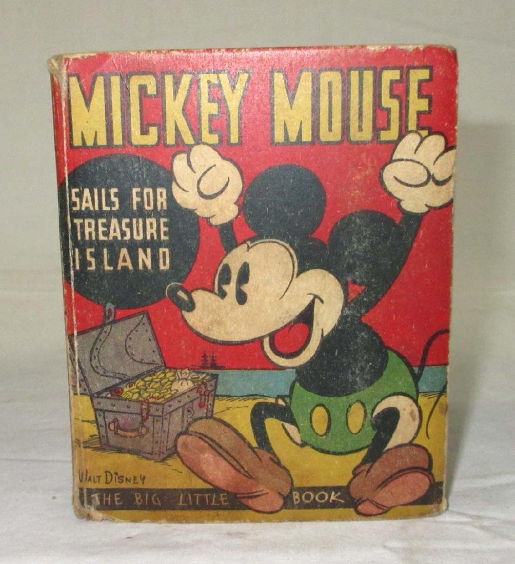Big Little Book 1933 Mickey Mouse