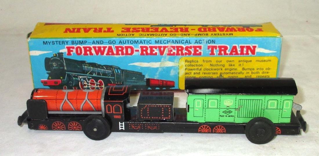 Bump & Goo Fwd-Rev Toy Train NIB