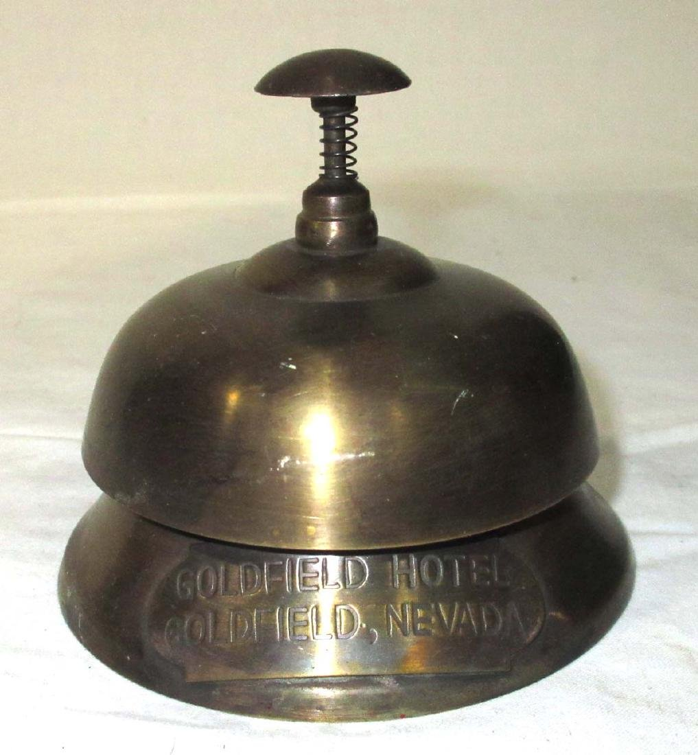 Modern Brass Goldfield Hotel Bell