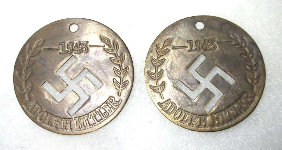 2 Modern Adolf Hitler Tokens