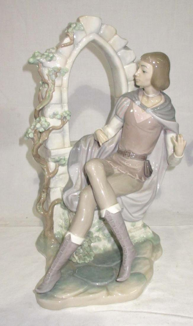 2 Large Lladro Figures Both As Is - 2
