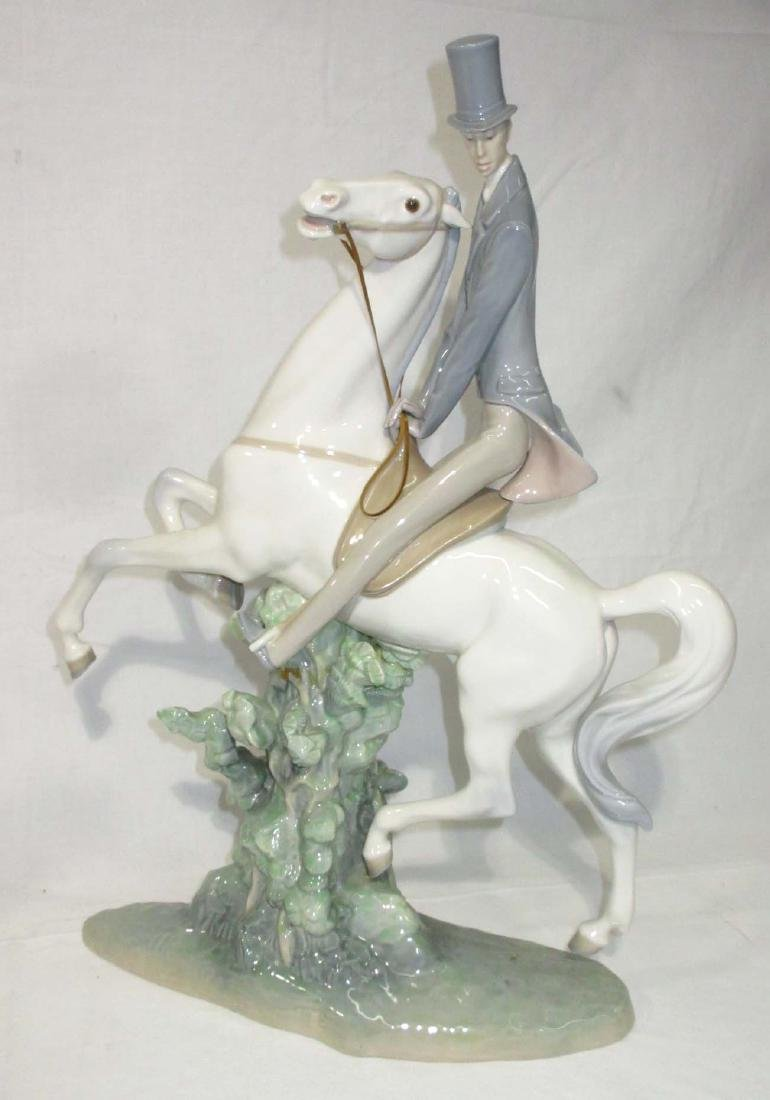 2 Large Lladro Figures Both As Is - 4