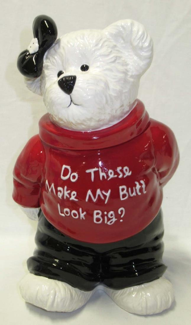 Boyds Bear Cookie Jar