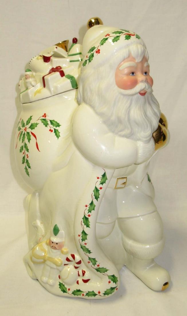 Lenox Santa Cookie Jar