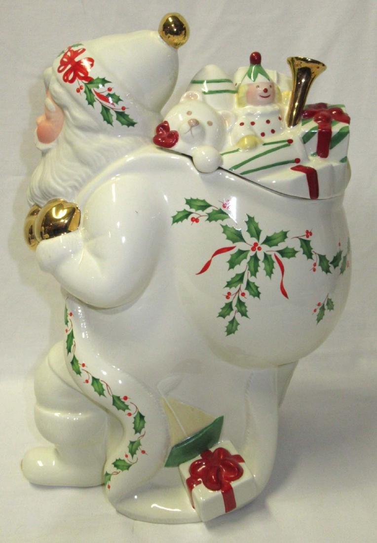 Lenox Santa Cookie Jar - 2