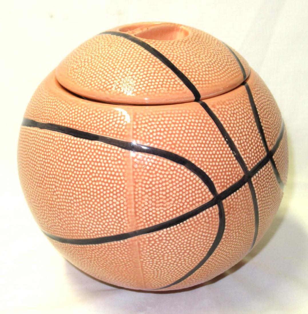 Basketball Cookie Jar
