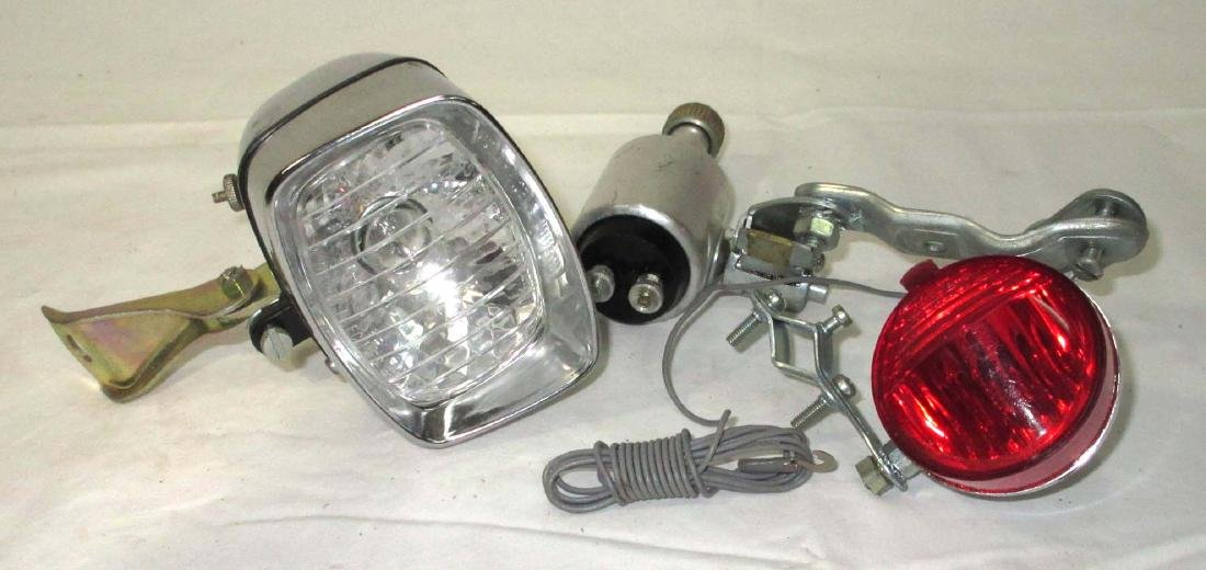 Bicycle Head & Taillight Set