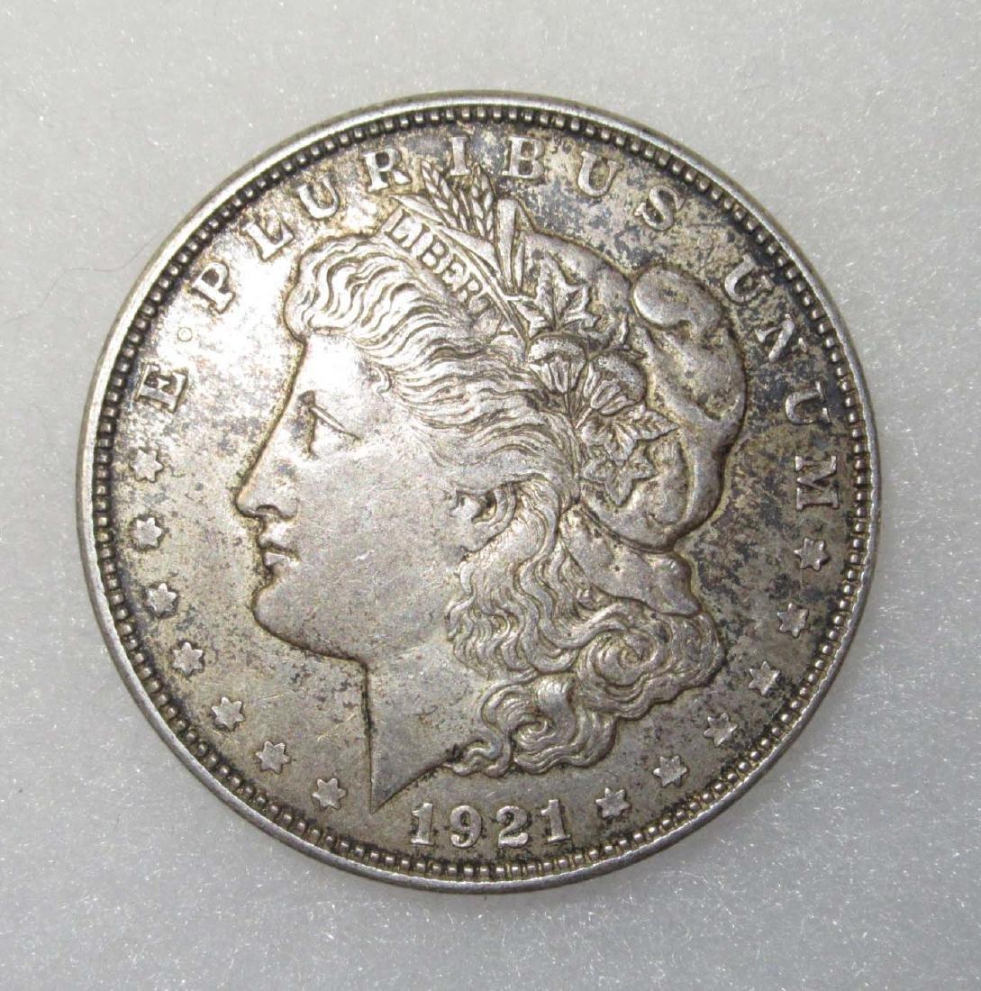 1921-D Silver Dollar