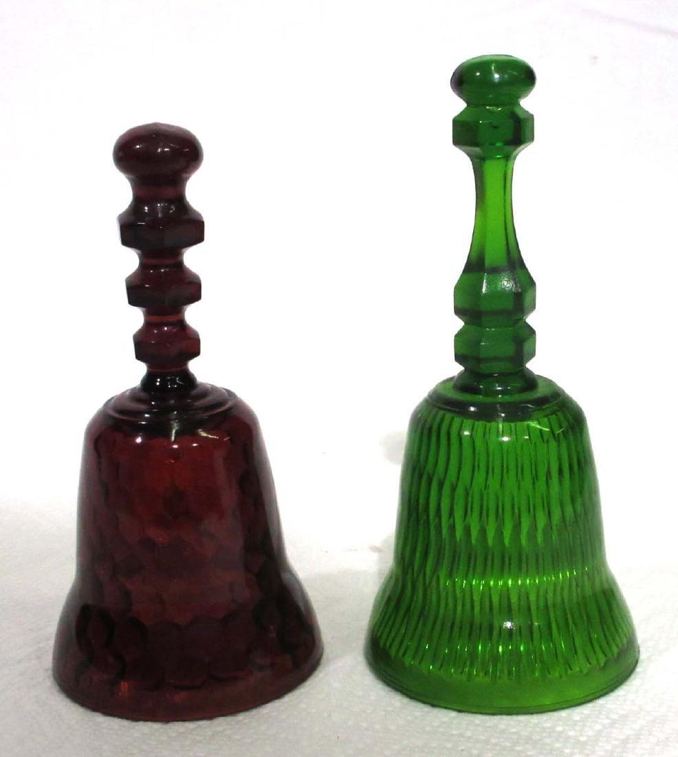 2 Glass Bells
