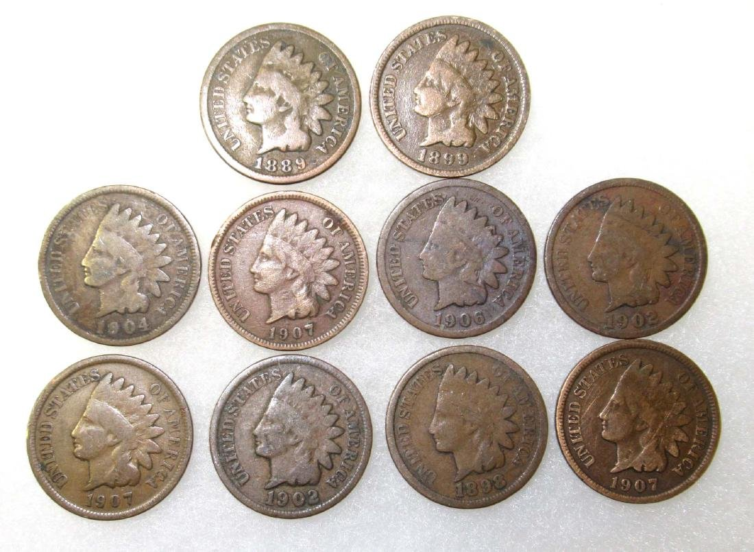 10 Indian Head Cents