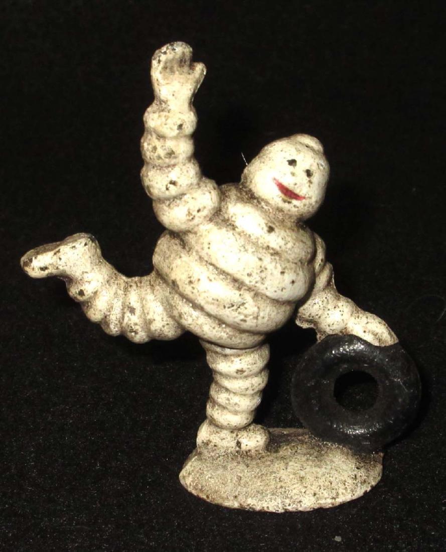 Modern Cast Iron Michelin Man Paperweight