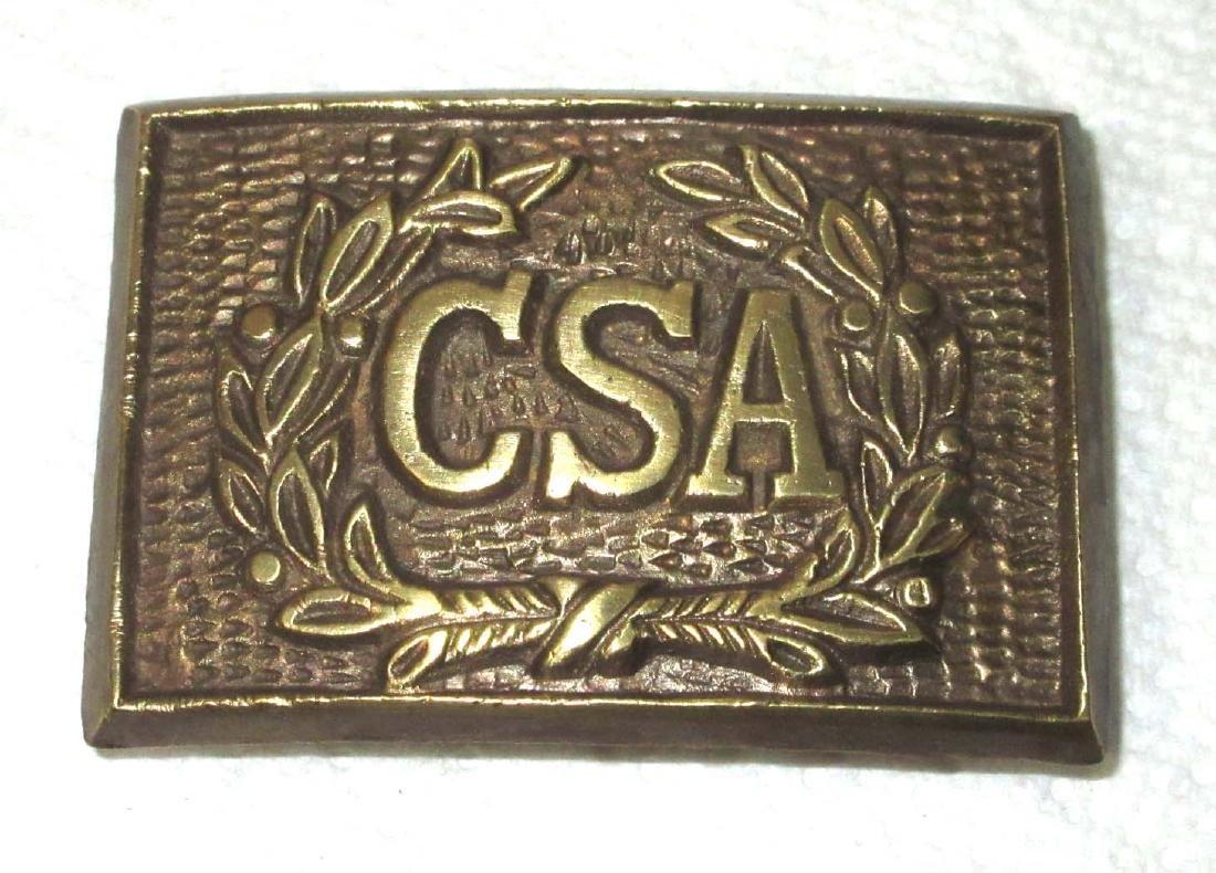 Modern Brass CSA Reenactment Buckle