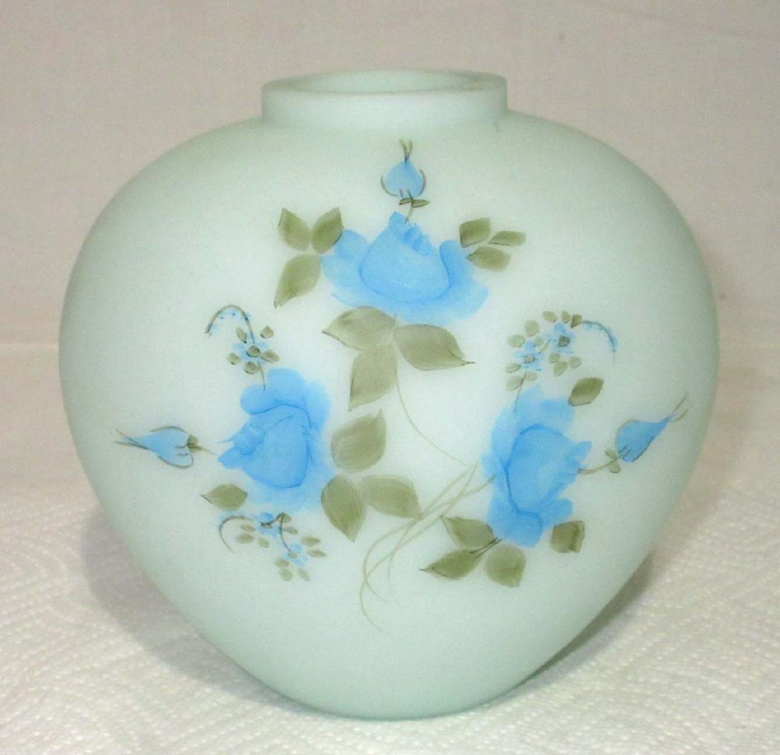 Fenton H.P. Vase