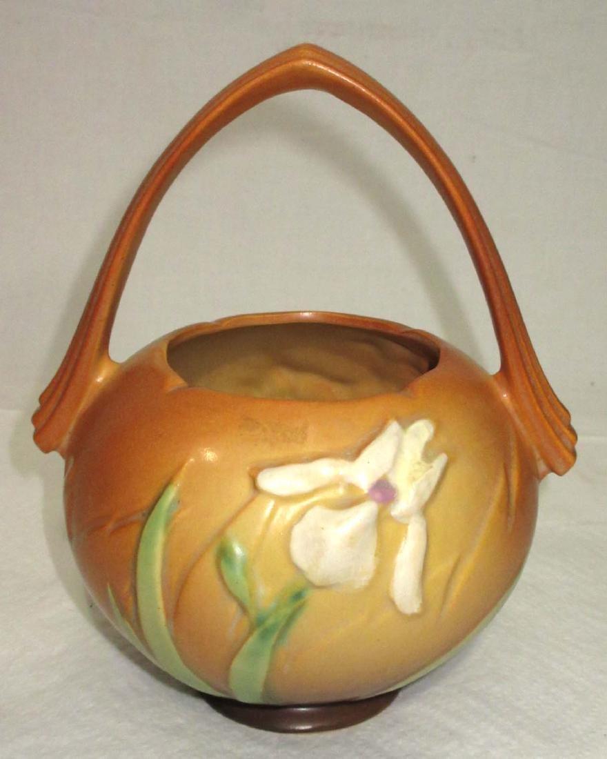 Roseville Pottery Basket
