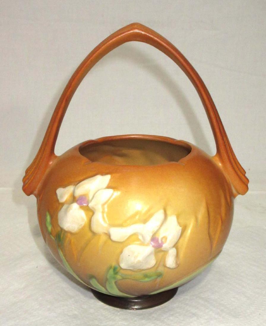 Roseville Pottery Basket - 2