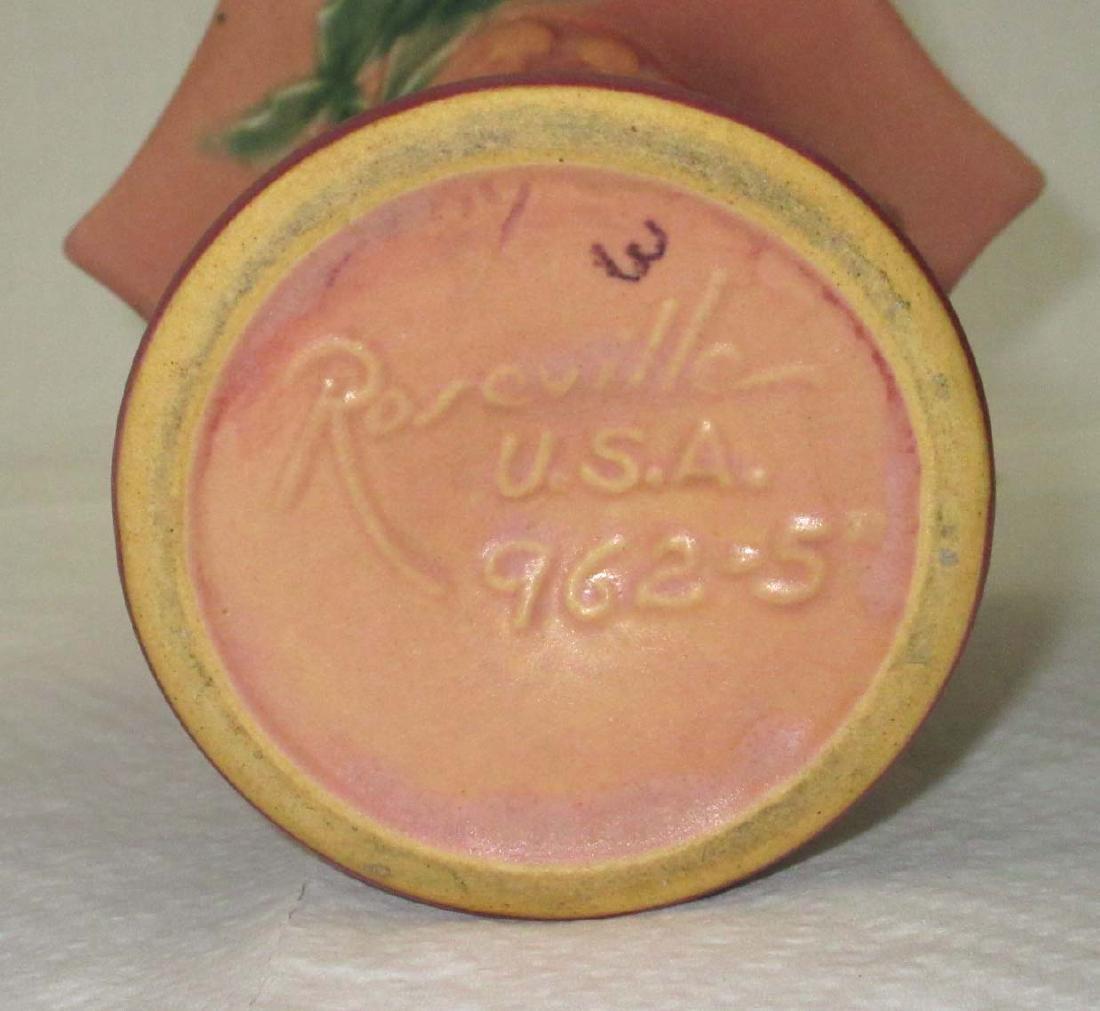 Roseville Pottery Vase 962-5 - 3