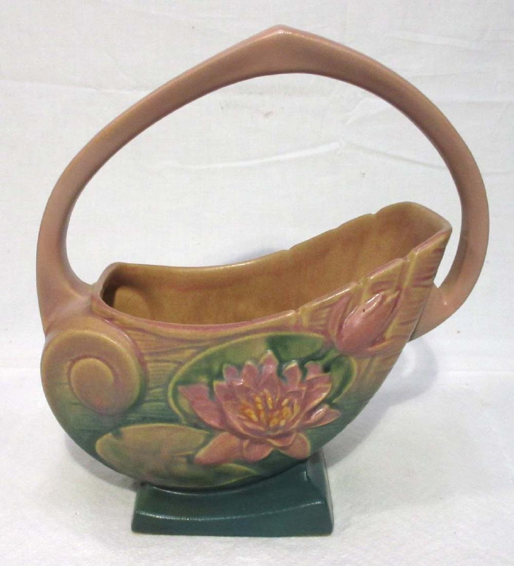 Roseville Pottery Basket 381-10